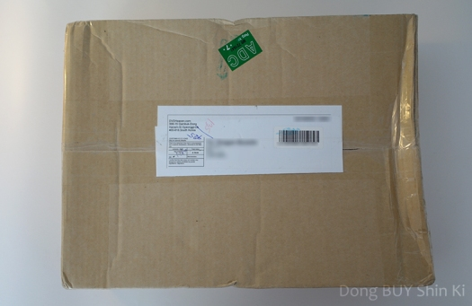 Package from DVDheaven unboxing