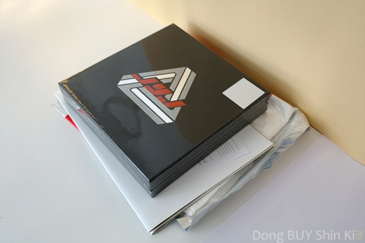 JYJ The Beginning Special Edition box poster t-shirt