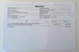 invoice DVDHeaven ktown4u JYJ The Beginning shippment