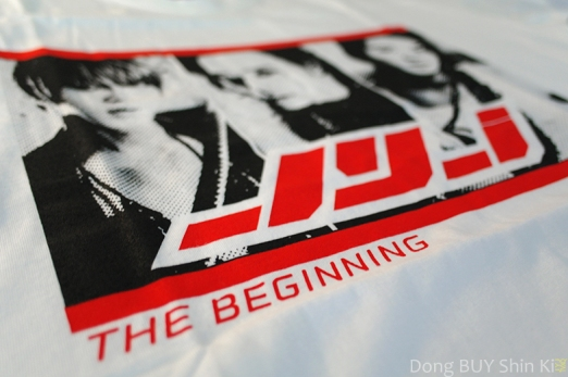 JYJ The Beginning t-shirt print logo