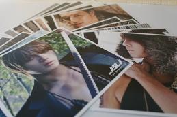JYJ Jaejoong Yoochun Junsu photo cards from 1st album