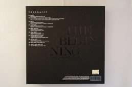JYJ The Beginning special limited edition tracklist back