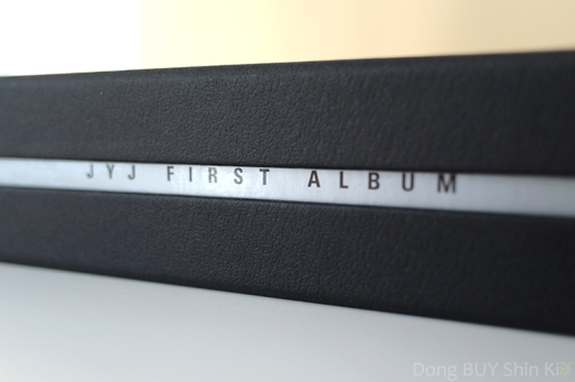 JYJ first debut album special edition side view