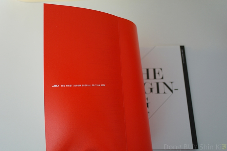 JYJ the first album special edition book