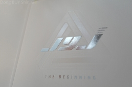 JYJ The Beginning the front photobook white silver