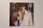 The Beginning photocard 1 Jaejoong wet waterfall sword white shirt black ring brown hair