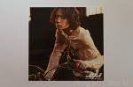 The Beginning photocard 10 1 Yoochun eyeliner guyliner motorcycle long hair white shirt