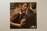 The Beginning photocard 8 1 Junsu tattoo arm bicep brown hair shoulder black stud earring