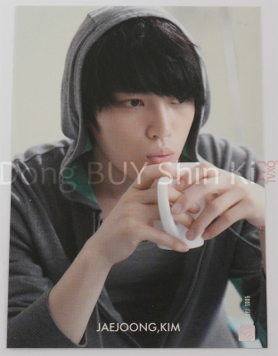 JYJ collection card example normal card Jaejoong front