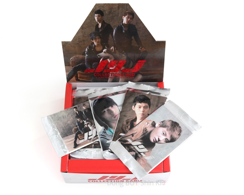 JYJ Collection collectible card box packs