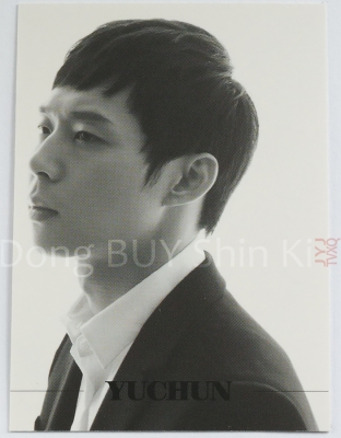 Example 6 Gold foil layer JYJ star collection card Yu Chun