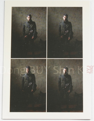 example 8 laser foil layer Yoochun JYJ collection card blue back photocard