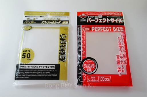 JYJ Collection Card protectors barrier sleeve KMC Japan standard perfect size