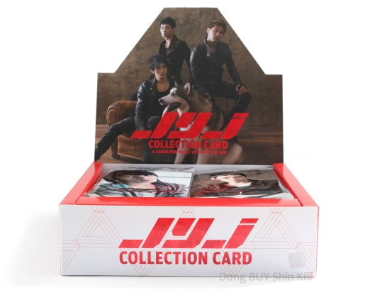 JYJ Collection Card box type B with 10 packs front