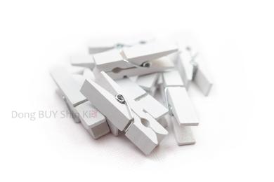 white clothespin or clip