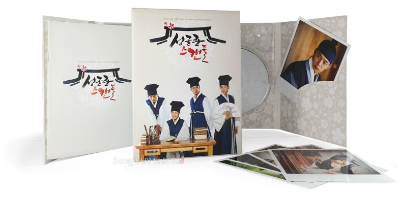 Sungkyunkwan Scandal Special Edition photobook polaroid Lee Sun Joon Kim Yoon-hee Kim Yoon-shik photo cards two CDs luxury package