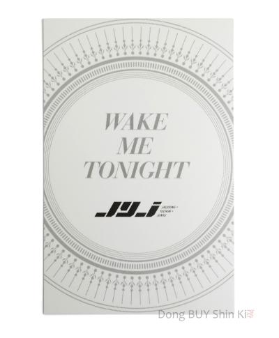 JYJ Xia Junsu Wake Me Tonight official photocard 2015 CJeS Entertainment