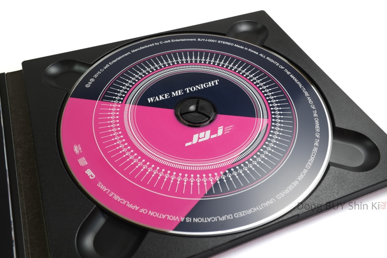 JYJ Wake Me Tonight CD unboxing