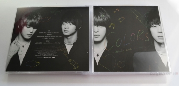 Jaejoong and Yoochun COLORS Melody and Harmony Junsu Shelter CD DVD unboxing double jewel case special project box