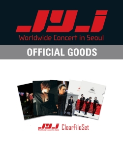 CJeS offical Worldwide Concert in Seoul clear file set