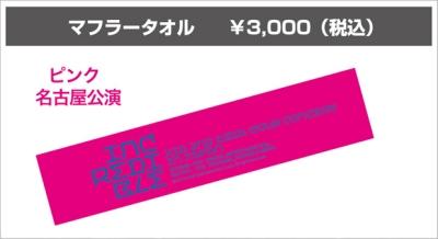 CJeS official XIA Incredible towel pink Nagoya