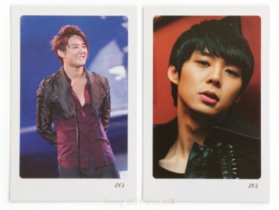 Ktown4u JYJ photo cards Yoochun Junsu Xia unofficial