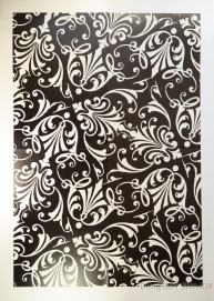black and white pattern wrapping paper from JYJ poster book