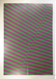 Jejung Yuchun Junsu purple and green wrapping poster paper