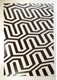 JYJ patterned paper decoration