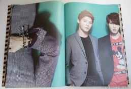 JYJ Poster and Wrapping Paper book Junsu Jaejoong poster inside look