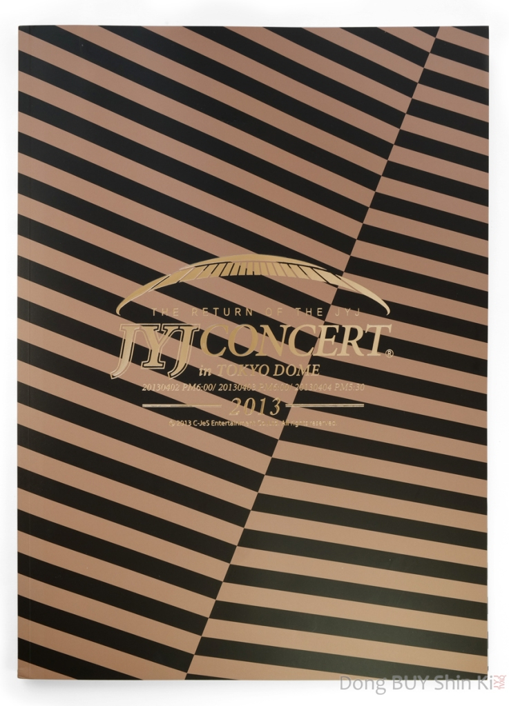 JYJ wrapping paper poster book JYJ concert in Tokyo Dome