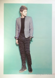 JYJ Xia Kim Junsu poster book official goods from 2013 concert in Tokyo Dome
