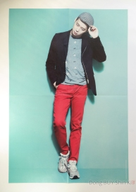 JYJ Yuchun Yoochun in Tokyo Dome 2013 poster book official goods