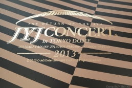 The Return of the JYJ Concert in Tokyo dome 2013 C-Jes Entertainment golden book
