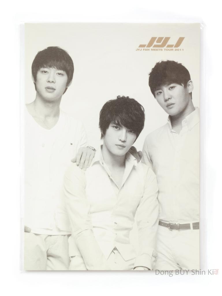 JYJ fan meets tour 2011 spotlight photo set type A Lotte fanmeeting