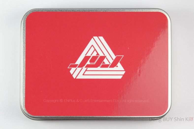 JYJ memo box steel case fanmeeting goods Lotte 2011 back
