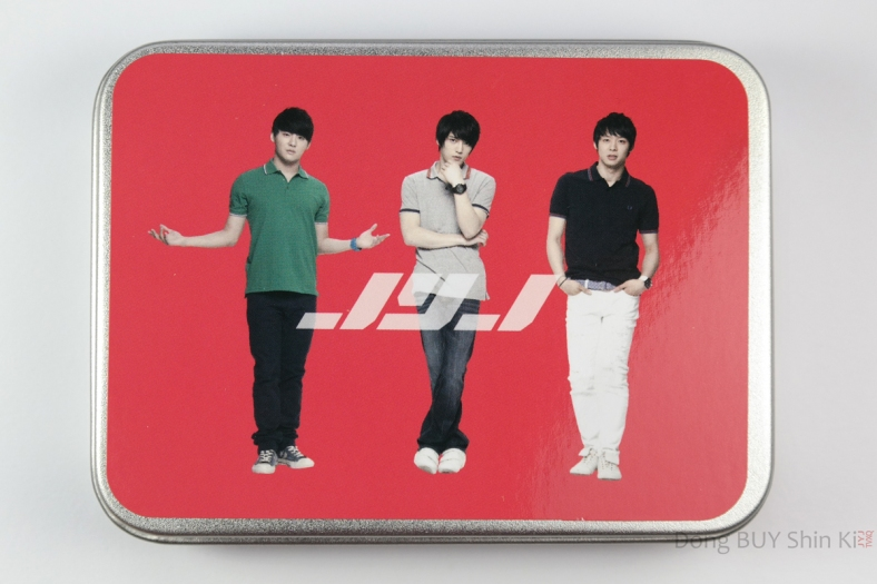 JYJ pattern memo in steel case JYJ Fanmeeting tour goods Lotte spotlight 2011