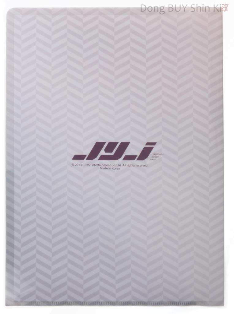 JYJ Kim Jaejoong clearfile set folder Yep Seoul 2013 back made in Korea C-JeS