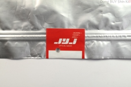 JYJ official goods Jaejoong Yuchun Junsu red sticker on shirt packaging unboxing