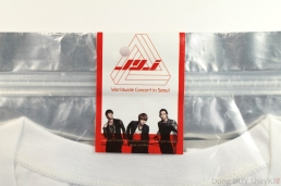 JYJ shirt unboxing package sealed sticker unopened new