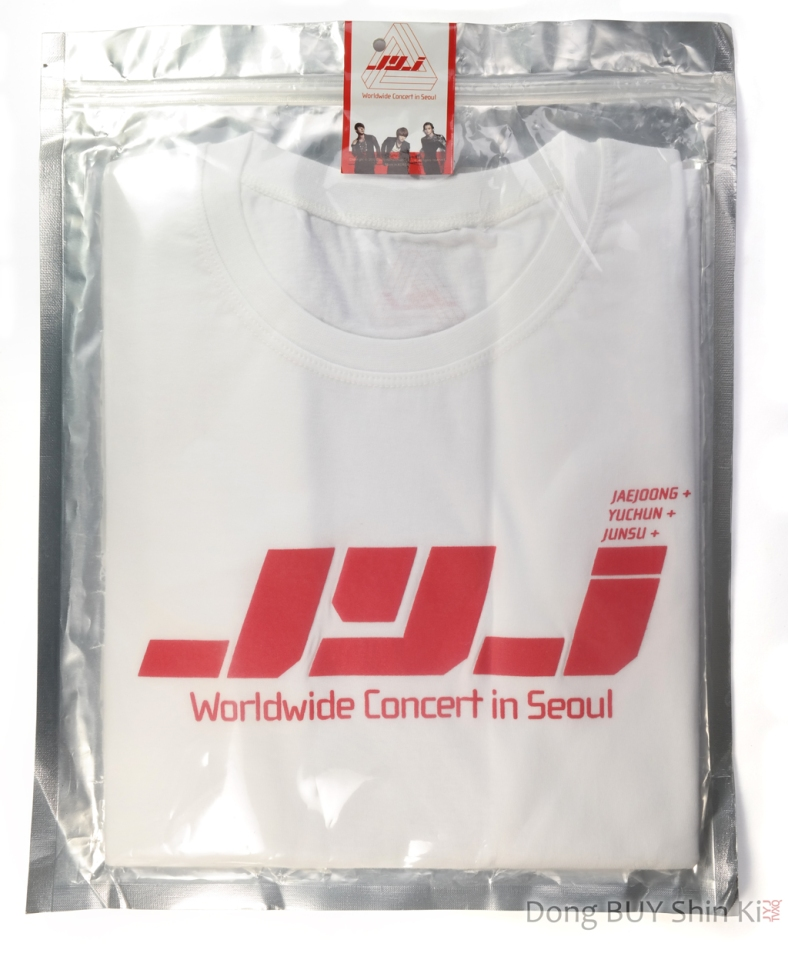 unboxing JYJ item shirt sealed unopened new CJeS Entertainment official goods