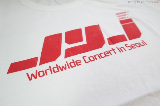 unboxing JYJ shirt official goods