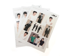JYJ stickers 3 sheets JYJ Fanmeeting tour goods Lotte spotlight 2011