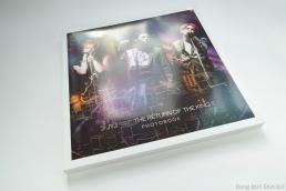 JYJ Kpop photo book Jaejoong Yoochun Junsu concert in Seoul 2014 Just Us album promotion tour The Return of the King
