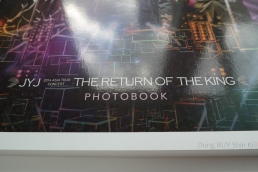 JYJ Photobook 2014 Asia Tour Concert The Return of the King 3D pages photo