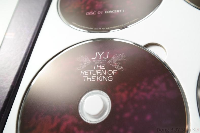 JYJ The Return of the King DVD Concert 1
