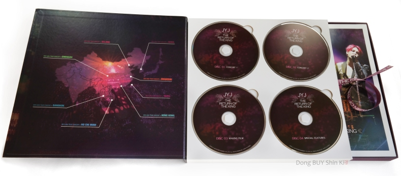 JYJ unboxing DVD concert set Seoul making of behind the scenes extras photobook poster photocard