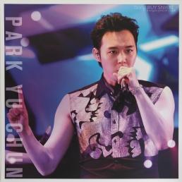Park Yoochun arms Asia Tour Concert bonus mini poster photocard large JYJ DVD collection