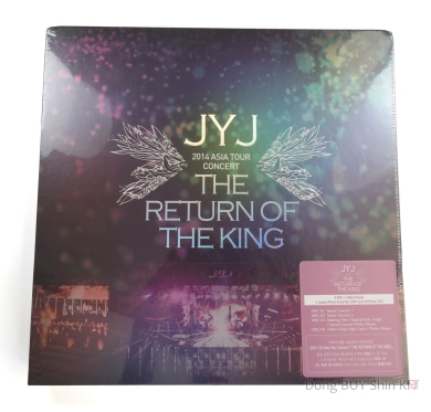 unboxing Kpop JYJ 2014 Asia tour concert The Return of the King official CJeS new sealed packaged unopened
