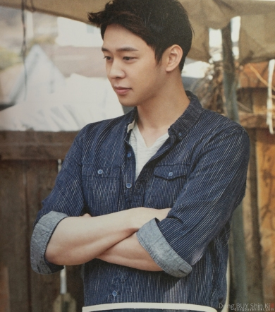 Park Yoochun forearms arm muscles handsome sexy